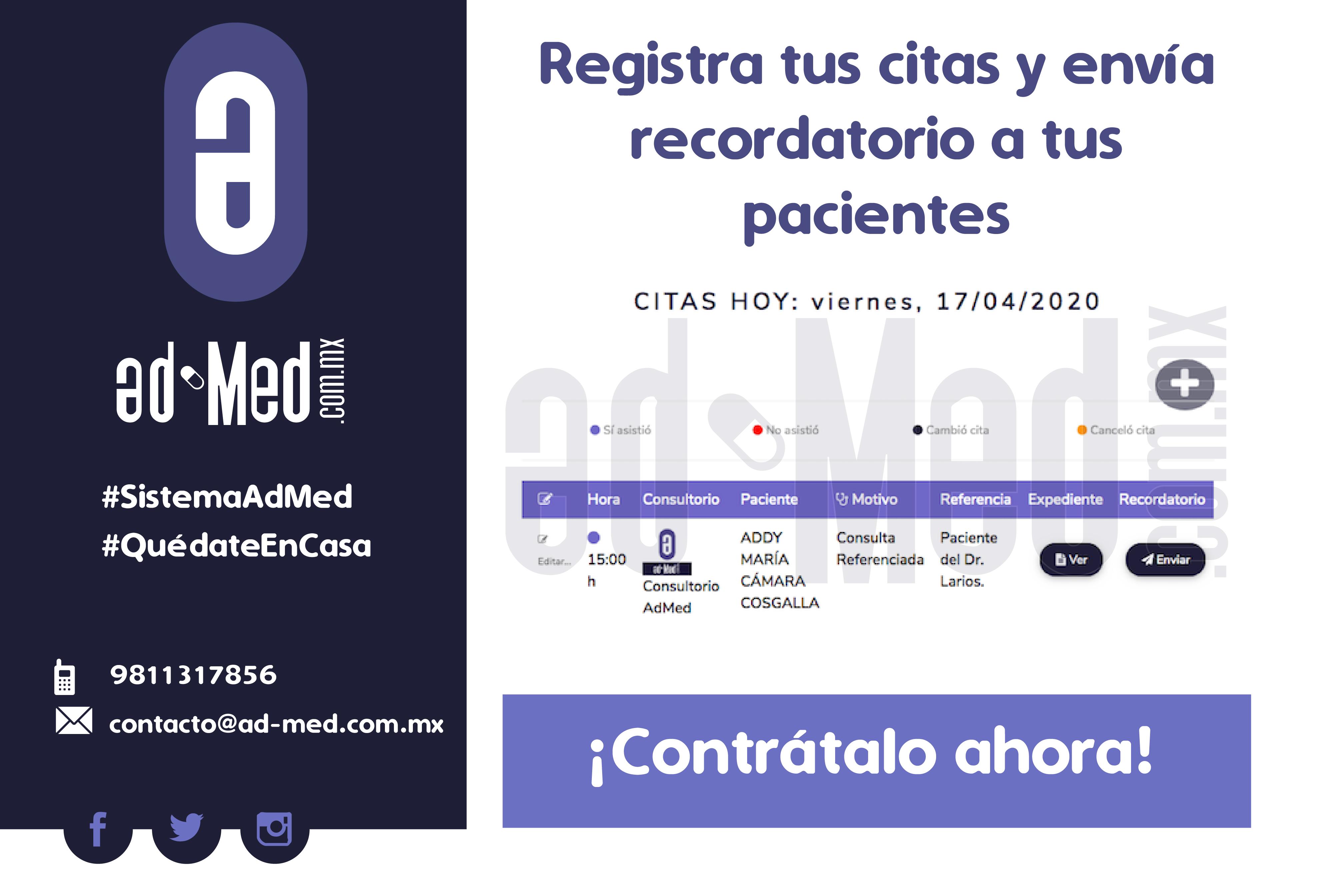 Desarrollo Web: Sistema Ad-Med
