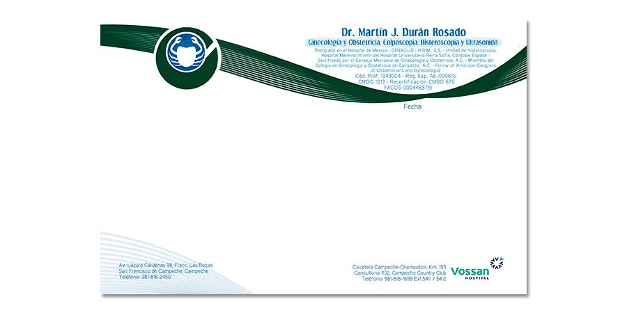 Recetario: Dr. Martín Durán Rosado